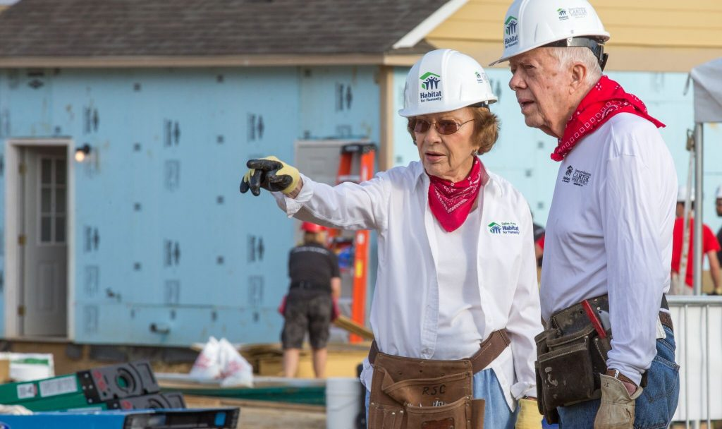 Rosalynn Carter and President Carter